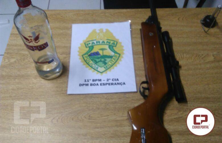 Polícia Militar de Boa Esperança prende uma pessoa por direção perigosa e embriaguez ao volante