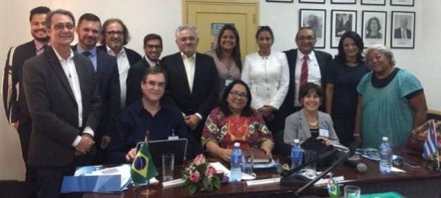 Cristiane Pantaleão participa de missão brasileira em Cuba