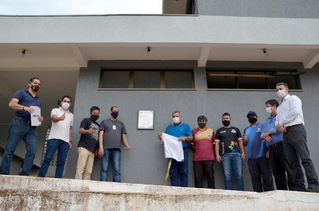 Entrega oficial das melhorias no Estádio Municipal Claudinão de Ubiratã