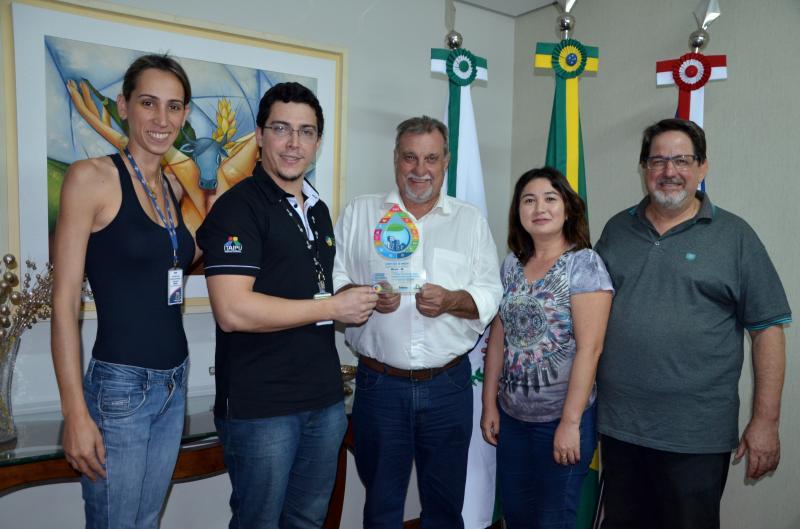 Ubiratã é premiado no concurso regional de Boas Práticas em sustentabilidade