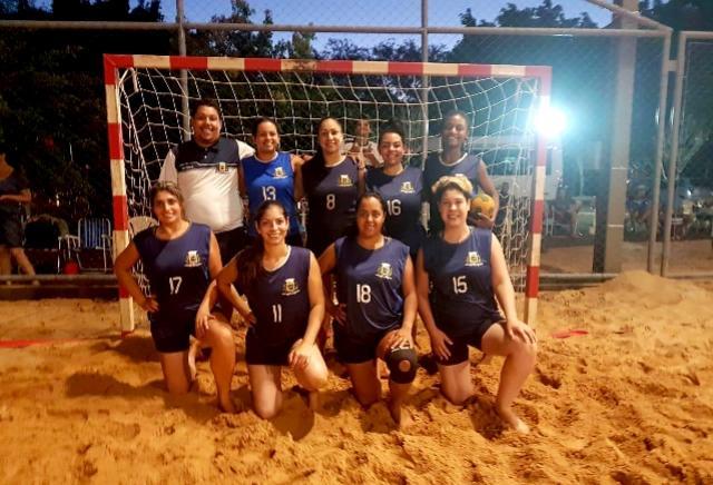 Ubiratã disputará o Campeonato Paranaense de Handebol de Areia Feminino