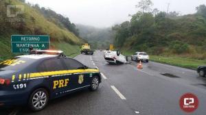 PRF registra queda de 20% das mortes nas rodovias federais do Paraná em 2018