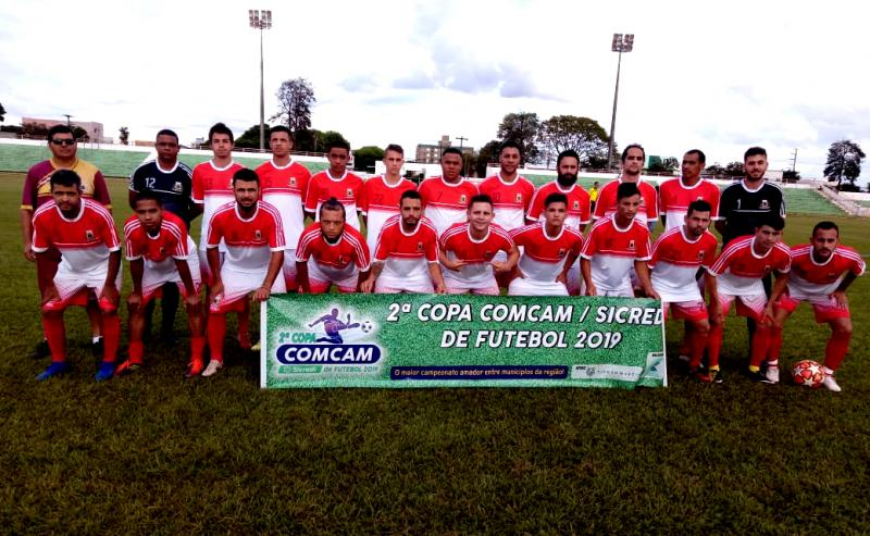 Ubiratã lidera Grupo A após vencer Grêmio Mourãoense pela Copa Comcam