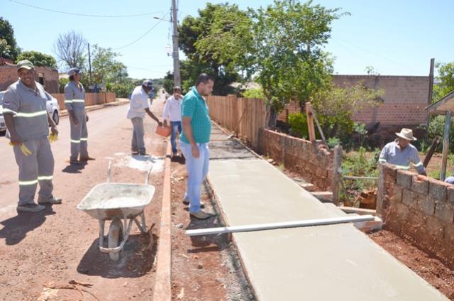 Melhorias no bairro São Joaquim continuam