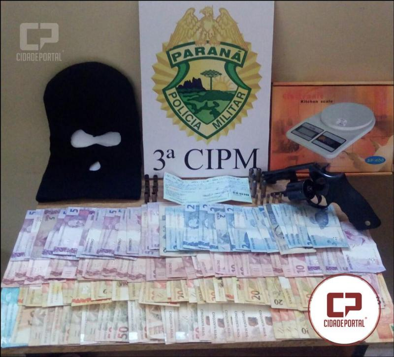 Polícia Militar de Loanda durante mandado apreende arma de fogo, munições, dinheiro e outros objetos