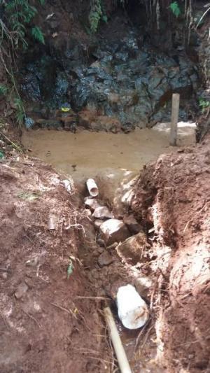 Emater e Prefeitura de Nova Cantu incentivam proteção de nascentes