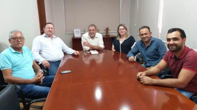 Vereadores iniciam o ano visitando o prefeito de Ubiratã e reivindicando melhorias para população