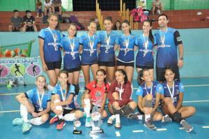 Voleibol de Juranda estreia com 2º lugar na Copa Talentos em Ação