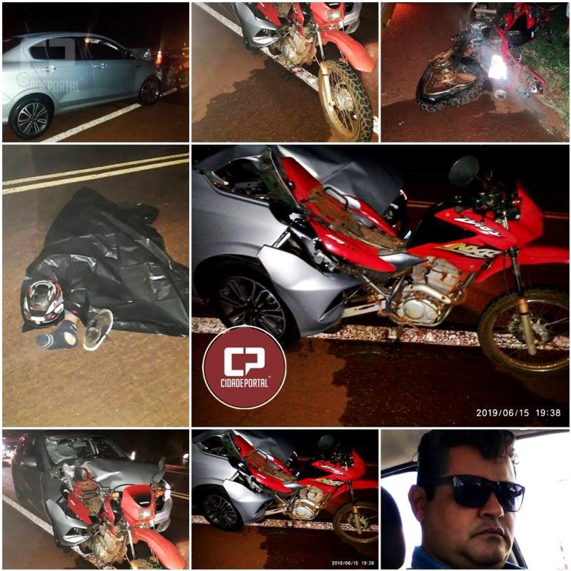 Motorista é preso pela PRF após matar motociclista durante ultrapassagem proibida na BR-369 em Ubiratã