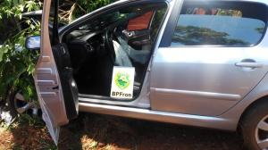 BPFRON recupera em Mercedes-PR veículo furtado na cidade de Curitiba-PR