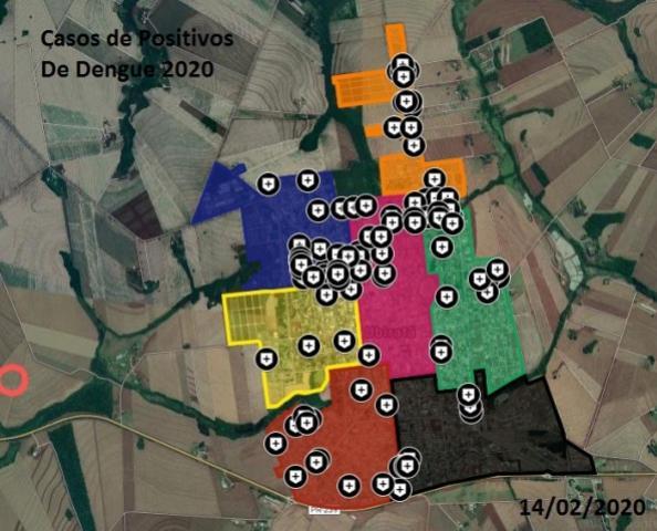 Casos de dengue aumentaram em Ubiratã na última semana