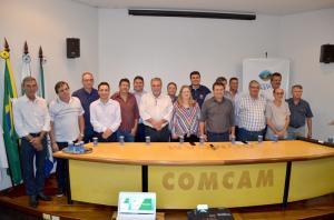 """Comcam recebe a """"Caravana do ICMS Ecológico"""" e Ubiratã conta com 13,89% de área verde"""