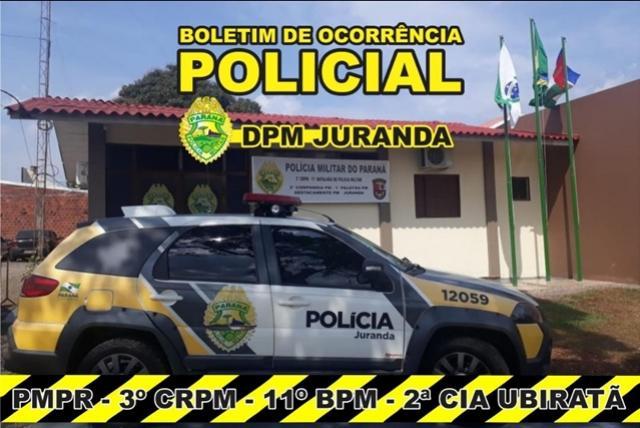 Polícia Militar de Juranda presta apoio a equipe de fiscalização da prefeitura
