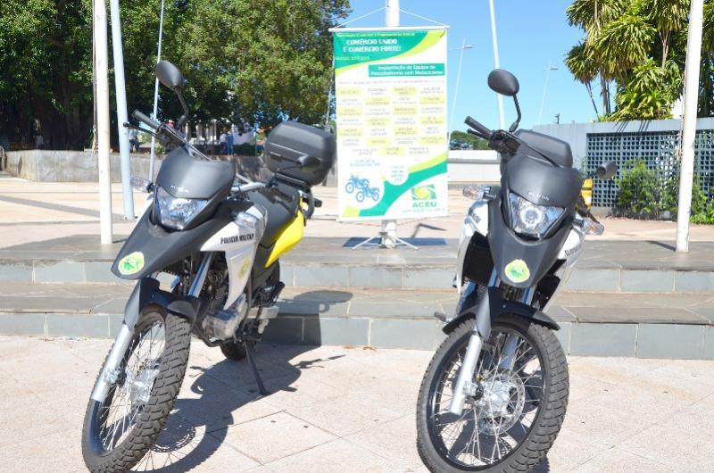 Polícia Militar de Ubiratã fará patrulhamento com motos adquiridas pela classe empresarial