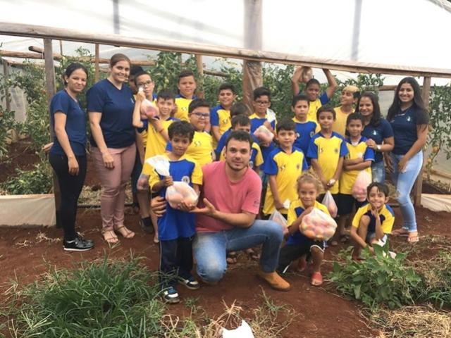 Projeto Agroecologia S.O.S  finalizou mais uma ação em Ubiratã
