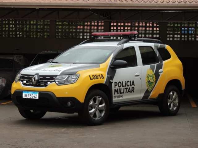 Ubiratã recebe nova viatura para a Polícia Militar