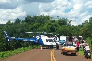 Mulher perde a vida em acidente entre Altamira do Paraná e Campina da Lagoa