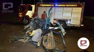 Rapaz de 20 anos morre em grave acidente na PR-281 em Dois Vizinhos, saída para o Verê