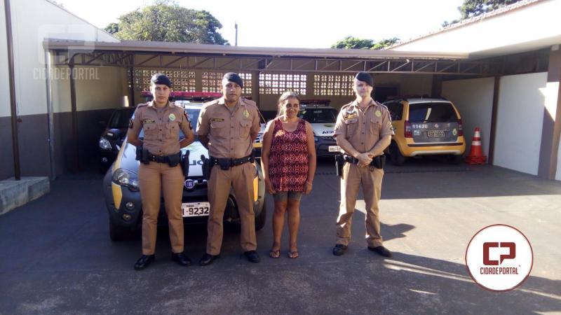 Polícia Militar de Ubiratã após dedicada mobilização encontra pessoa desaparecida desde março