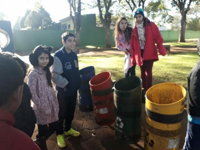 Escola Municipal de Ubiratã conta com atividades sobre a importância do meio ambiente