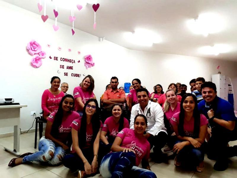 Atividades do Outubro Rosa na Unidade Josefina