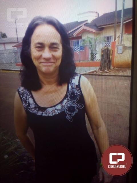 Mulher de 47 anos esta desaparecida em Juranda, caso saiba algo avise as autoridades
