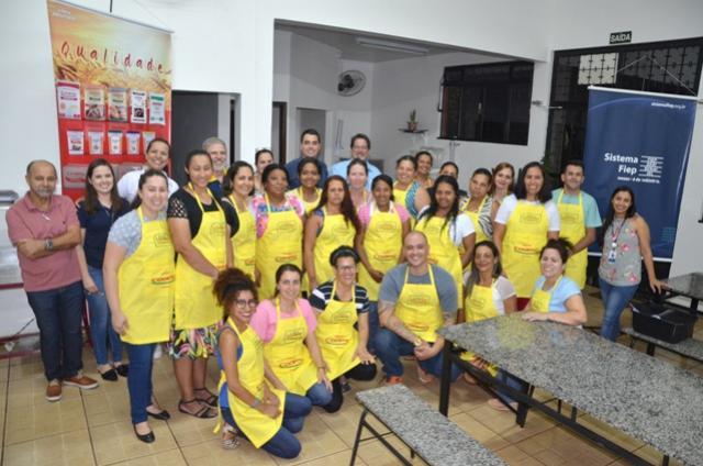 Aula inaugural do Curso de Panificação aconteceu em Ubiratã