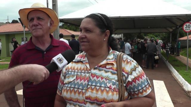 Futuros moradores do Residencial Parque das Flores falam da felicidade de conquistar a casa própria em Ubiratã