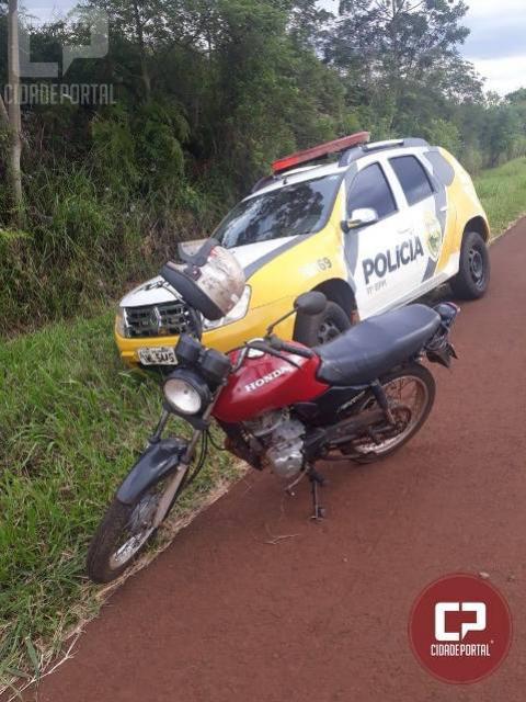 Polícia Militar recupera motocicleta furtada no Distrito de Rio Verde em Juranda