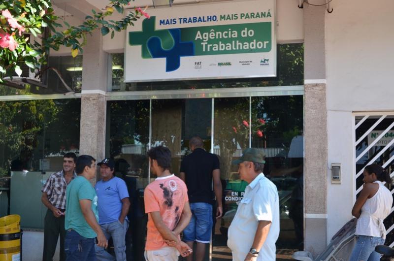Vagas de trabalho disponíveis em Ubiratã
