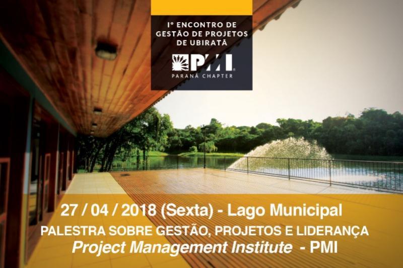Palestra sobre gestão, projetos e liderança em Ubiratã