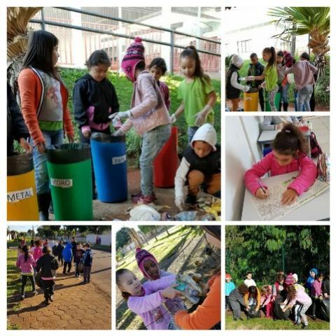Escolas municipais de Ubiratã realizam atividades sobre a importância do meio ambiente