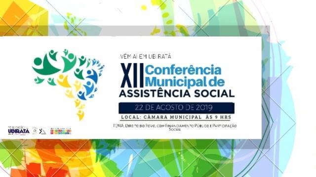 Conferência Municipal de Assistência Social será realizada dia 22 de agosto em Ubiratã