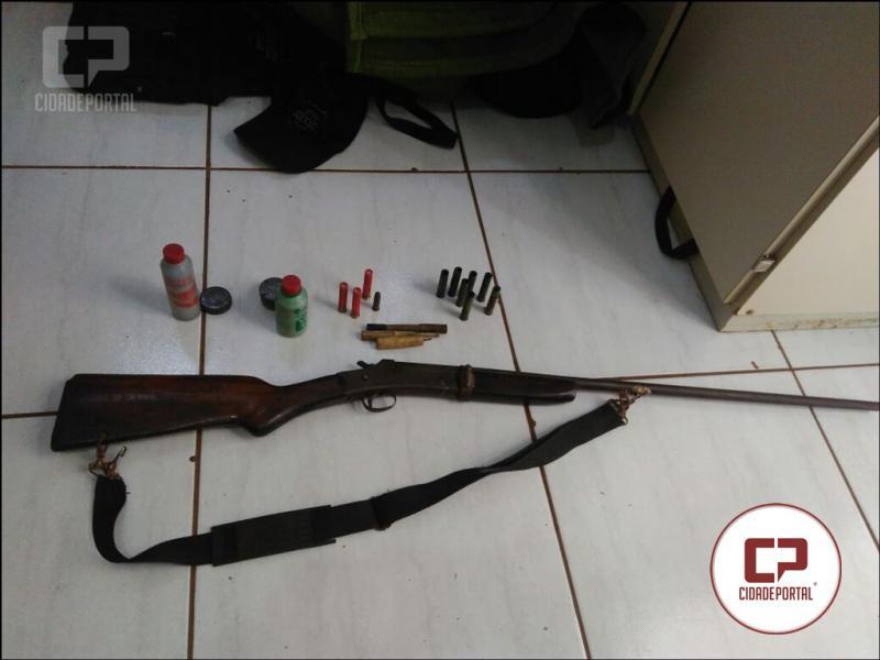 Polícia Militar de Nova Cantu foi acionada em hospital para atender disparo de arma de fogo