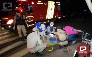 Sargento da PM é baleado em Campo Mourão ao separar briga e autor é agredido por populares
