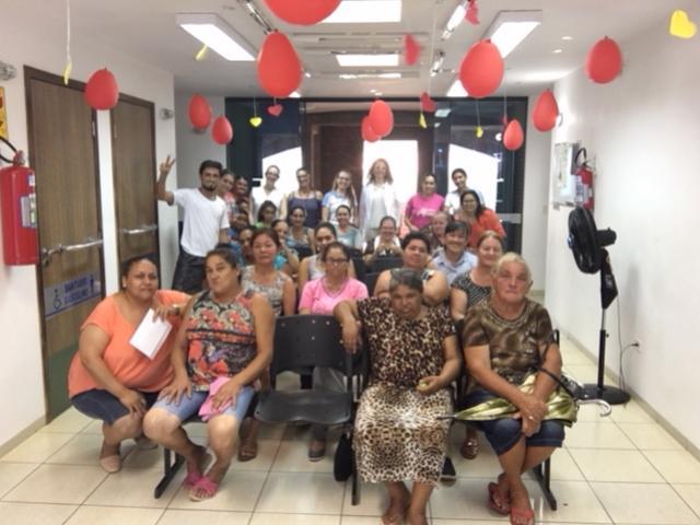 Comemoração do mês da mulher no NASF