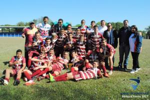 BARBOSA FERRAZ: No Futebol Ubiratã foi superior a Floresta e ficou com o Ouro dos JOJUPs