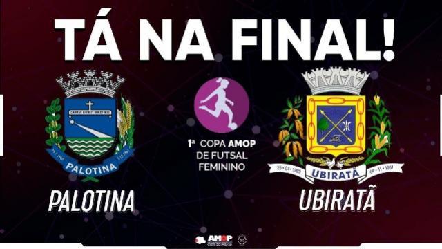 Ubiratã e Palotina começam a disputar final da Copa Amop 2018 neste sábado, 25