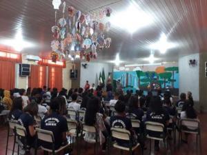 Segurança Pública, Conselho Tutelar e Secretaria de Saúde orientam alunos em relação ao Carnaval