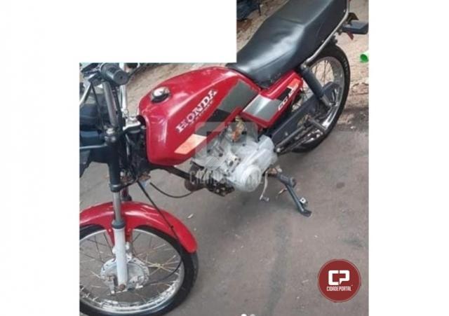 Após investigação do comandante da PM de Juranda, moto foi recuperada em Campo Mourão