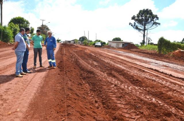 Urbanização da Avenida João Medeiros e Rua Vereador Jorge de Oliveira começa a transformar as duas regiões em Ubiratã