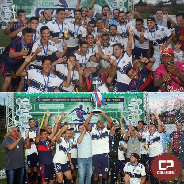 Ubiratã é bicampeão da 2ª Copa Comcam/Sicredi