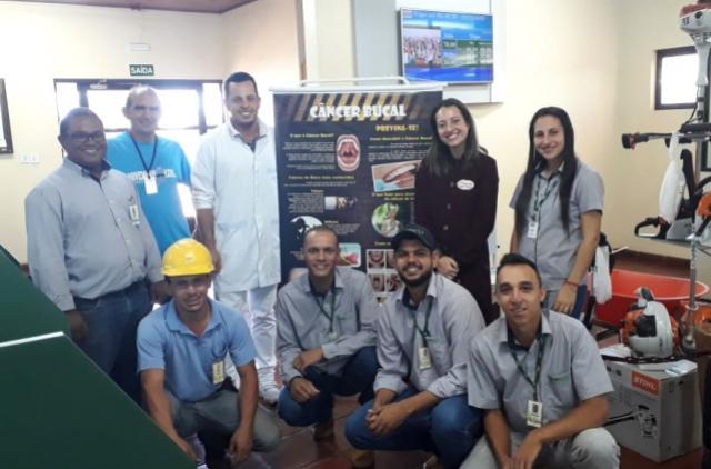 Saúde bucal e prevenção de câncer de boca foram temas de palestras em Ubiratã