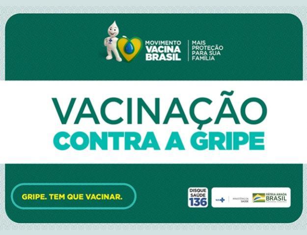 Vacinação contra gripe para idosos e profissionais da saúde começa nesta segunda-feira, 23 em Ubiratã
