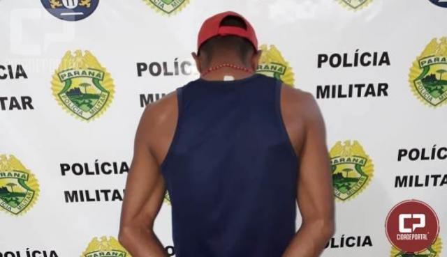 Homem é preso com mais de 600g de drogas nesta quinta-feira, 22, em Juranda