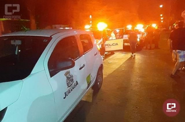 Polícia Militar de Juranda presta apoio a equipe de fiscalização da prefeitura e fecham estabelecimento