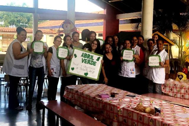 Equipe da Unidade de Saúde Josefina desenvolveu ação voltada ao Abril Verde
