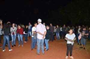São João realizou festa com tradicional queima da fogueira em Ubiratã