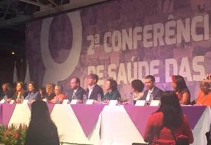 Ubiratã representado na 2ª Conferência Nacional de Saúde das Mulheres  em Brasília