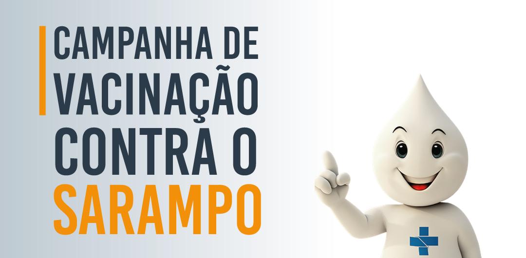Última semana da Campanha de Vacinação contra o Sarampo em Ubiratã